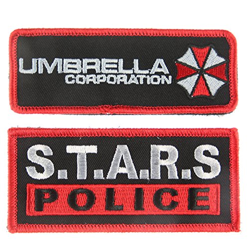 Tactical Patch : Umbrella Corporation and S.T.A.R.S. Police (Pack of 2)]()