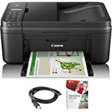 Canon PIXMA MX492 WiFi All-In-One Compact Size Printer Scanner Copier Fax (0013C002) with High Speed 6-foot USB Printer Cable & Corel Paint Shop Pro X9