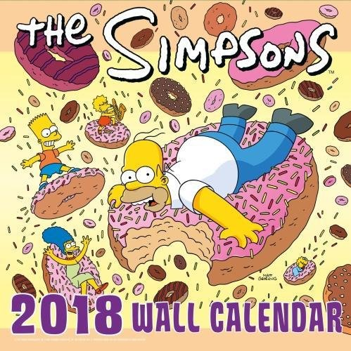 The Simpsons Official 2018 Calendar - Square Wall Format: Not ...