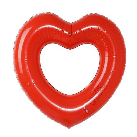 Pommee - Anillo de natación con Forma de corazón Flotante y ...