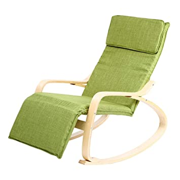 GG-Deck chair Mecedoras Silla Reclinable Silla para Ancianos ...