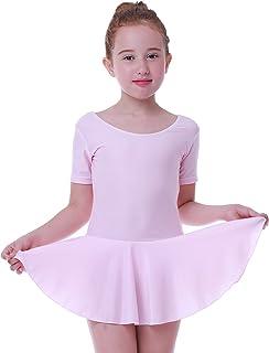 Ballett Ballettanzug Ballett Trikot mit Rock Kinder Ballettkleid Marina in rosa