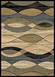 Cheap Rugs of Dalton CT1101-0508 Rug, 5′ x 8′, Surf Ivory