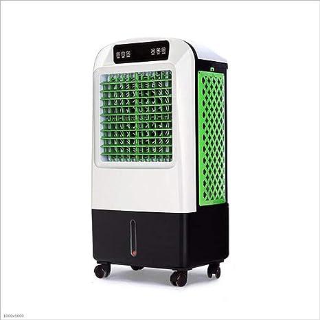 LNDDP Acondicionadores Aire Ventilador evaporativo Máquina Aire frío Hogar refrigerado por Agua Ventilador humidificación remota frío frío 110W: Amazon.es: Deportes y aire libre