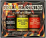 Pepper Creek Farms BBQ Seasoning and Grilling Set,...