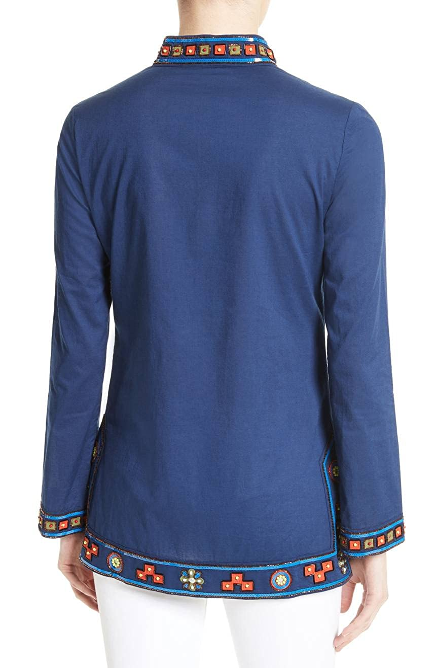 08fc40e4c885 Tory Burch Women s Embellished Tory Tunic
