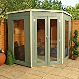 Premier Corner Summerhouse with Double Door