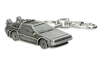 Amazon.com : Close Up Back to the Future Keyring - DeLorean ...