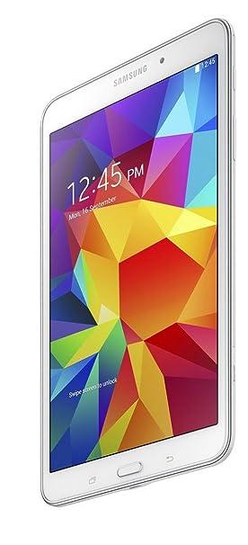 Samsung Galaxy Tab 4 7-inch Tablet (White) - (Quad Core 1 2GHz, 1 5GB RAM,  8GB Storage, Wi-Fi, Bluetooth, 2x Camera, Android 4 4)