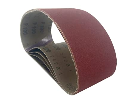 3 X 21 Inch 150 Grit Aluminum Oxide Metal Sanding Belts 8 Pack