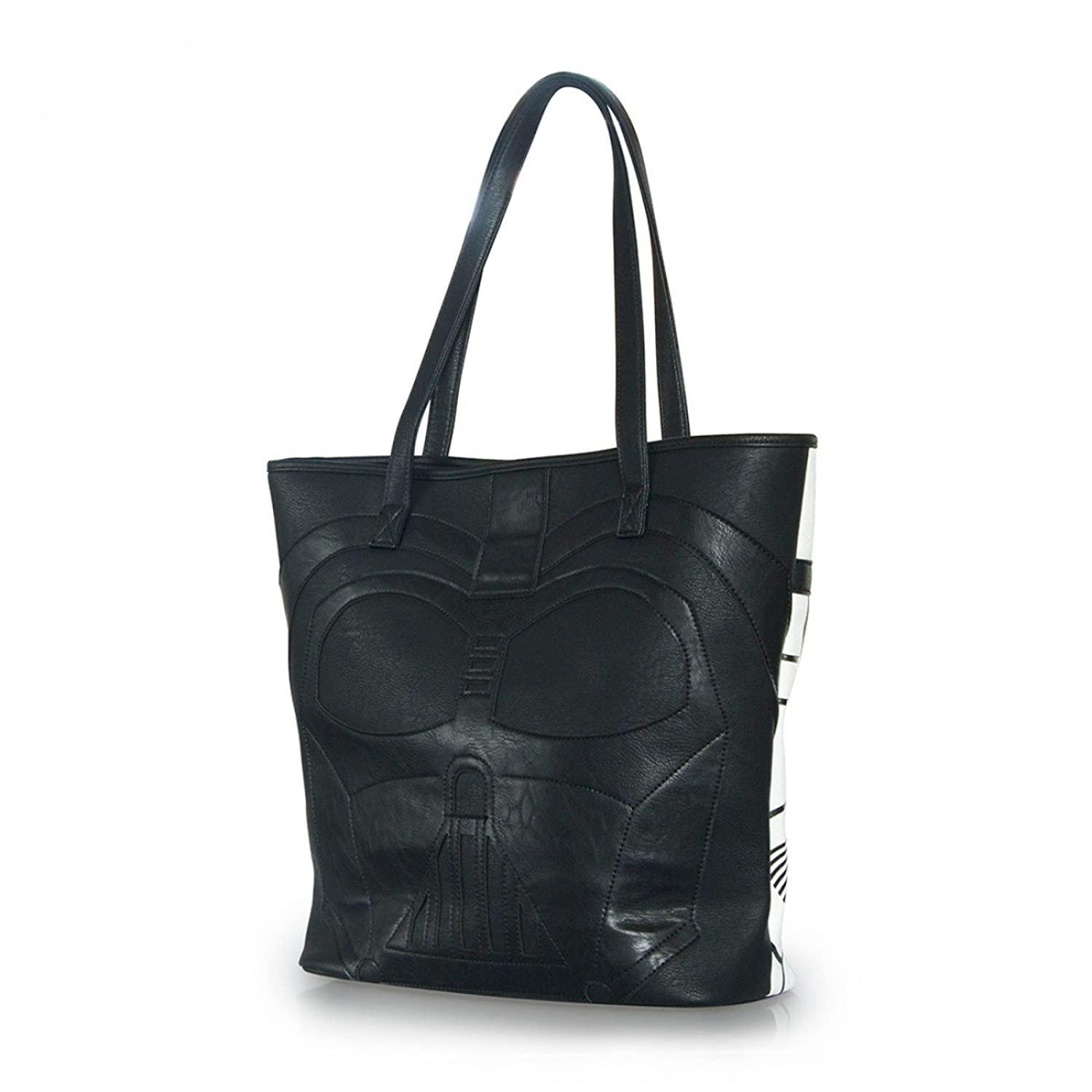 Loungefly x Star Wars Darth Vader / Stormtrooper Faux Leather 2-Sided Tote
