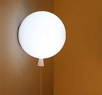 INTASBD Wand-Lampe Farbe Ballon-Lampe skandinavischen einfachen ...