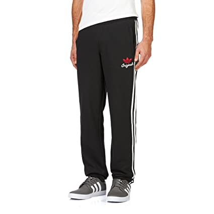 bac5819fbed797 Adidas Originals SPO Fleece TP Trainingshose Jogginghose schwarz ...