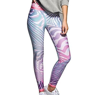 Juleya Fitness Sporting Leggings Femmes Camouflage Workout Leggings Style 4 Multicolore L