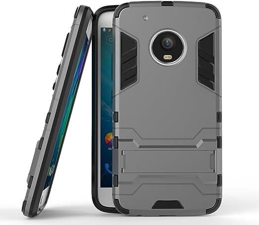 Funda para Motorola Moto G5 Plus (5,2 Pulgadas) 2 en 1 Híbrida ...