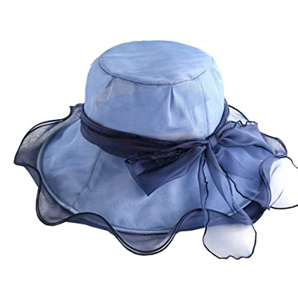 Amazon.com  JU FU Hat - Women s Summer Sun Hat Outdoor Travel Anti-UV Beach  Cap Foldable Casual Wide-Side Sun Hat (3 Colors to Choose from)  7ab23ca98235