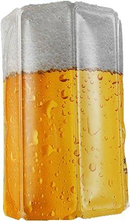 Funda flexible helada, que se saca del congelador y se coloca sobre la botella a enfriar,La bebida s