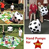 2pcs Giant Inflatable Dice Huge Blow up Dot Kid