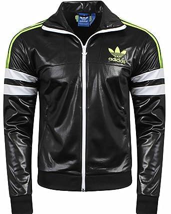 1637f138 Mens Adidas Originals Back Green Jacket Coat (XXL): Amazon.co.uk ...