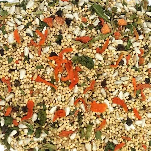 Sweet Harvest Cockatiel Bird Food (No Sunflower Seeds), 4 lbs Bag - Seed Mix for Cockatiels
