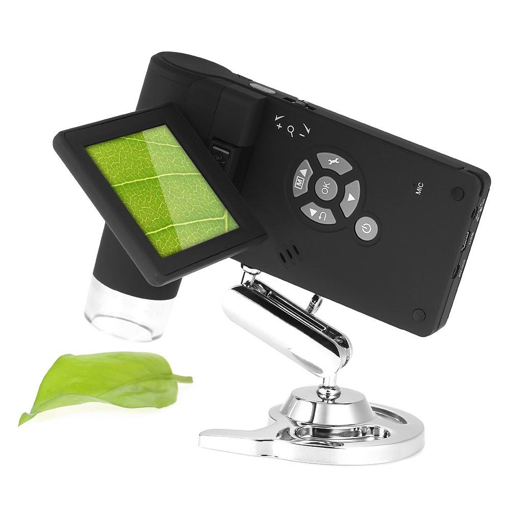 KKmoon Professionista Mobile Palmare 3' LCD Portatile Microscopio Digitale 5M 10-500X Fino a 1200x Per Digital Ingrandimento Foto e Video Capture
