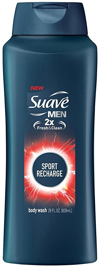 Amazon Com Suave Men Body Wash For Everyday Use Sport Fragrance Bodywash And Shower Gel 28 Oz Beauty
