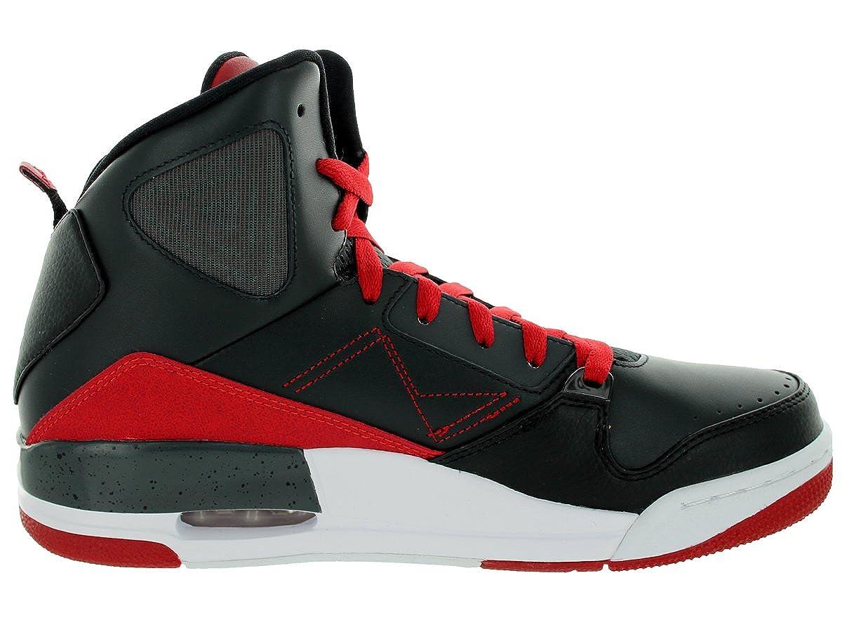 pretty nice 3aa85 9f682 Amazon.com   Jordan Nike Men s SC-3 Anthracite White Black Gym Red  Basketball Shoe 10 Men US   Basketball