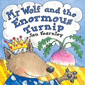 Mr Wolf and the Enormous Turnip Audiobook