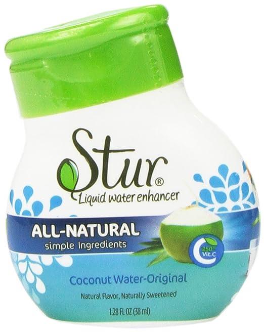 Stur - Original (5pck) Coconut Water enhancer………liquid drink mix, makes 100 8oz.