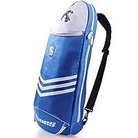 Big Racquet Sports Bag Badminton Bag Waterproof Multi-layer Placement Tennis Racket Dacron Shoulder Bag by Xiaolanwelc