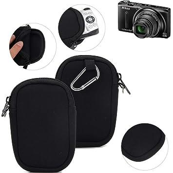 K-S-Trade® Funda Protectora De Neopreno para Cámara Compacta Nikon ...