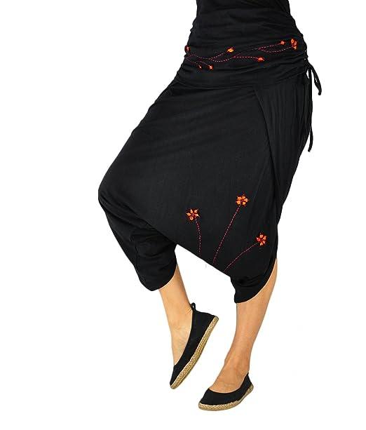 virblatt – gonna pantalone alla turca donna elegante e sportivo- Geschickt  fiori 5bbaf63ea6d