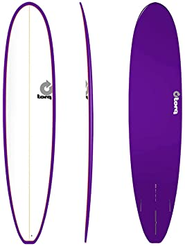 Tabla de Surf Torq epoxy Tet 8.6 Longboard White Purpl
