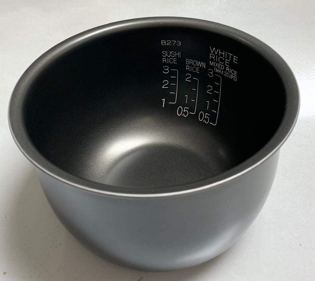 OEM Original Zojirushi Replacement Nonstick Inner Cooking Pan for Zojirushi NP-GBC05 3-Cup Rice Cooker