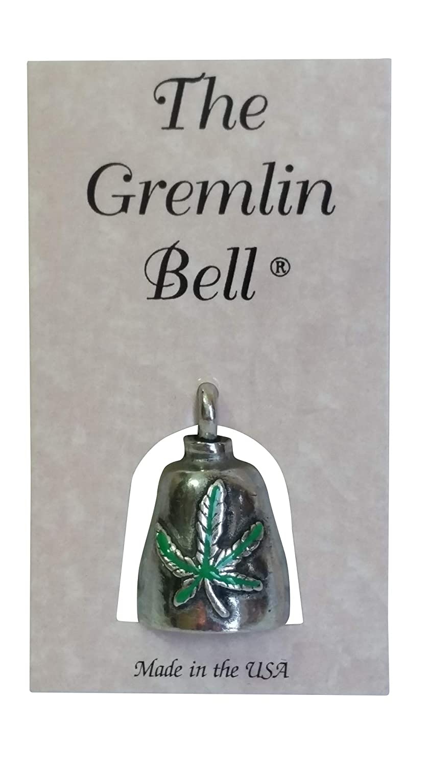The Gremlin Bell Pewter Good Luck Charm with Pouch and 2 Attachments and Story Card
