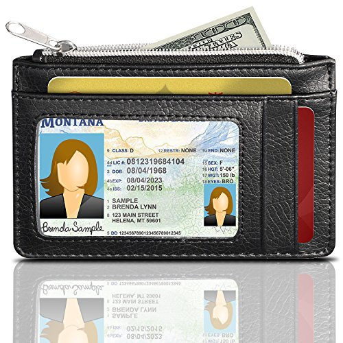 Blocking Leather Wallet GreatShield Zippered product image