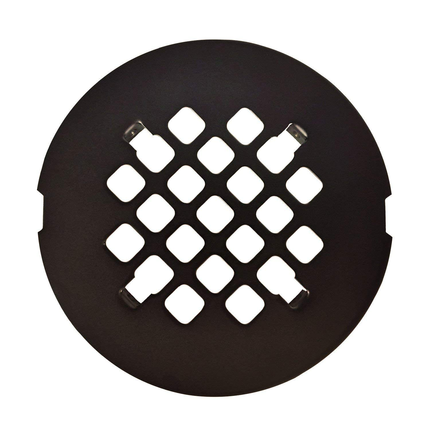 Peng Sheng Oil Rubbed Bronze Round Shower Drain Grate 4-1/4' Replacement Cover/Shower Strainer CN