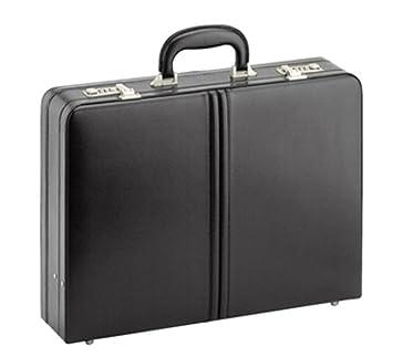 087e2d5112e19 D N - Tradition Business - Aktenkoffer - Echt Leder - 45x32x11cm + Dehnfalte