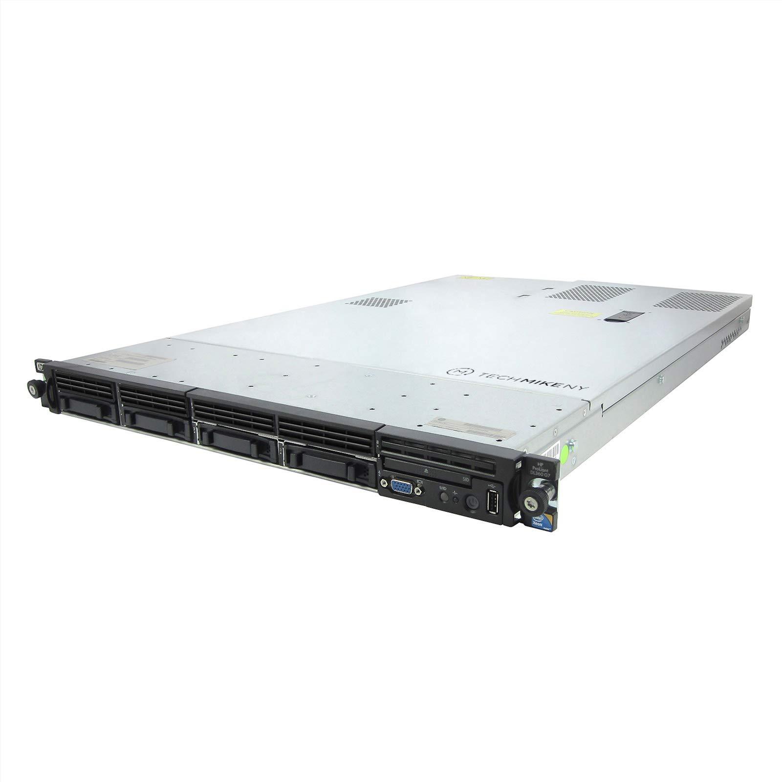 HP ProLiant DL360 G7 Server 2X 3.06Ghz X5675 6C 144GB 2X 146GB 15K SAS High-End (Renewed)