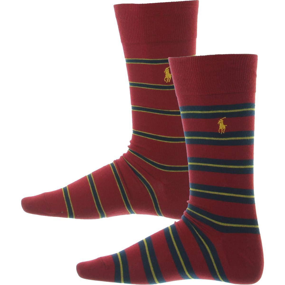Polo Ralph Lauren - 2 pares de calcetines (talla 39 a 45) - Rojo ...