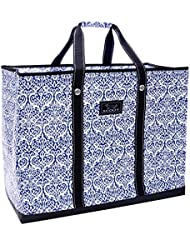 SCOUT 4 Boys Bag, Extra Large, Durable All Purpose Foldable Utility Tote, Folds Flat, Water Resistant, Zips Closed, Royal Highness