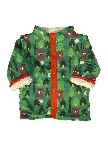 Little Green Radicals Chaqueta Reversible de algodón orgánico, Into The Woods, 3-4 años: Amazon.es: Ropa y accesorios