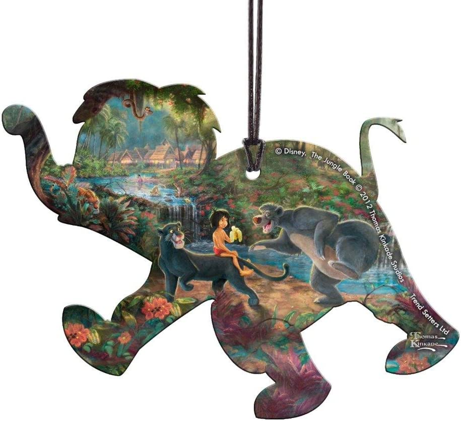 Trend Setters Disney - The Jungle Book - Elephant Shaped Hanging Acrylic - Hanging Acrylic Decoration – Perfect for Gifting or Collecting