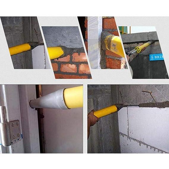MAyouth Pistolet /à Coulis Outil Multifonction Abs en Acier Inoxydable Outils De Calfeutrage Ciment Pompe /À Ciment