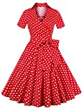 Babyonline Vintage Polka Dot Inspired Costumes 1950s for Halloween Party