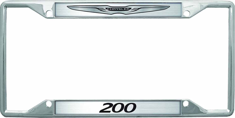 Amazon.com: Chrysler 200 License Plate Frame: Automotive