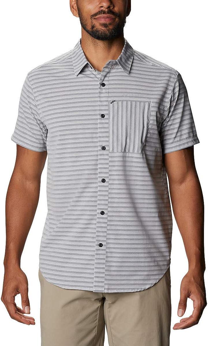 Columbia Mens Twisted Creek II Short Sleeve Shirt