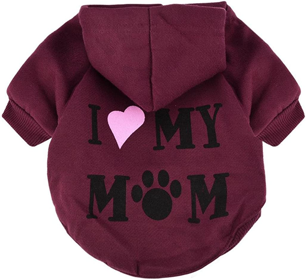 JACKY-Store Small Pet Dog Clothes Costume Puppy Cotton Blend T-Shirt