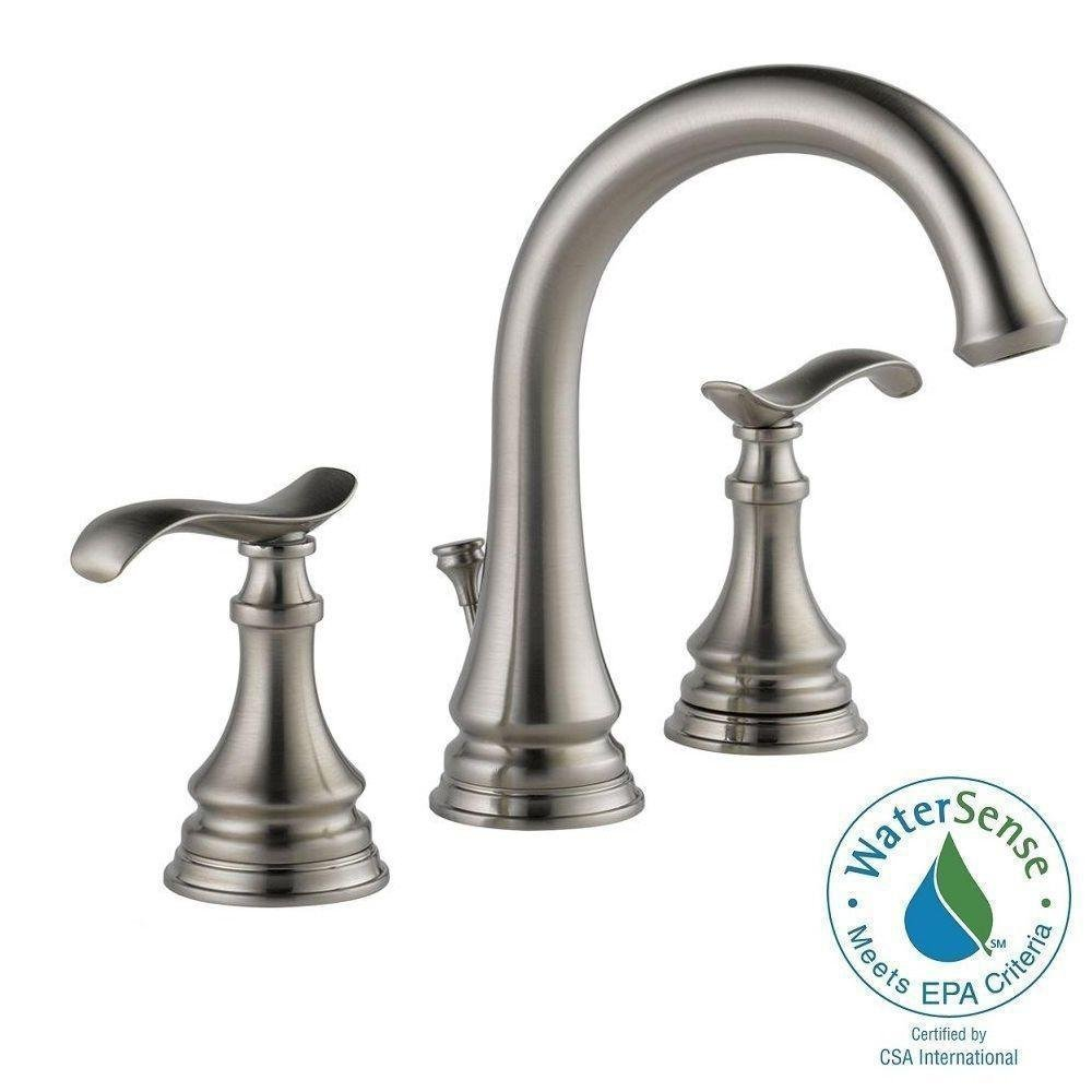 Delta Kinley 35730LF-SS Brushed Nickel 8 Faucet - - Amazon.com
