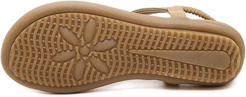 Summer Women Sandals Flip Flops Designer Elastic Band Flat Sandals Casual Women Shoes